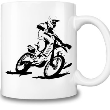 Motocross Racer Coffee Mug