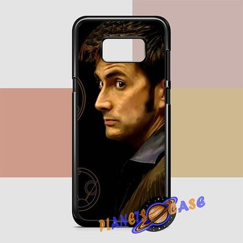 Tenth Doctor With Gallifreyan Samsung Galaxy S8 Plus Case Planetscase.com