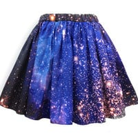 Small Magellanic Cloud Nebula Skirt by shadowplaynyc on Etsy