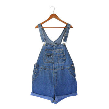 Plus Size Overall Women Overall Denim Overall Shorts Denim Shortall Women Shortall Salopette Dungarees 90s Overall Over All Bib Overall