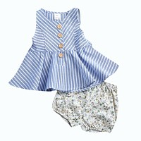 2PCS Toddler Girls Clothes Set