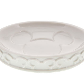 disney parks mickey mouse icon bath soap dish stoneware new