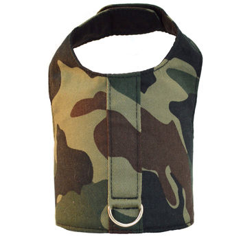 Camo Dog Vest Harness