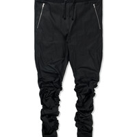 Black M-1 Ruched Pant
