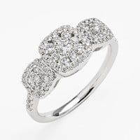 Women's Bony Levy 'Maya' Diamond Ring - White Gold (Nordstrom Exclusive)
