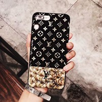 LV Louis Vuitton Electroplating Case for iPhone 7 8 X XR XSMAX