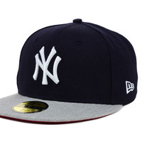 New York Yankees MLB Team Heather 59FIFTY Cap