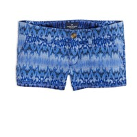 AEO FACTORY PRINTED SHORTIE