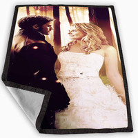 Once Upon a Time Captain Hook Emma Blanket for Kids Blanket, Fleece Blanket Cute and Awesome Blanket for your bedding, Blanket fleece **