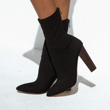 Odyssey Boots - Black - Shoes by Sabo Skirt