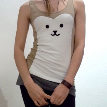 Beautiful Bear Tank Made to order by ThePetiteChouette on Etsy
