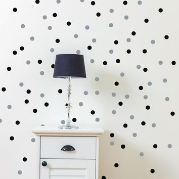 120PCS 4cm removable tiny polka dots wall sticker for kitchen refrigerator bathroom decor,free ship,M1