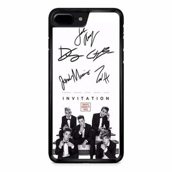 Why Dont We Signature iPhone 8 Plus Case