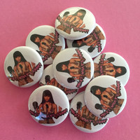 "Nicki Minaj ""Miley, Whats Good?"" Pinback Button"