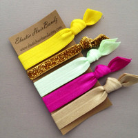The Autumn Hair Tie Ponytail Holder Collection