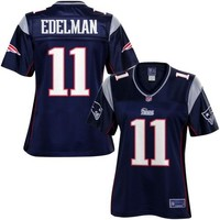 Pro Line Women's New England Patriots Julian Edelman Team Color Jersey