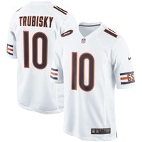 Men's Chicago Bears Mitchell Trubisky Nike White Event Game Jersey