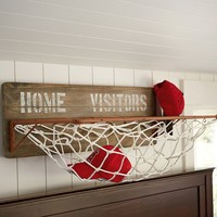 Sports Wall Organization - Horizontal Storage