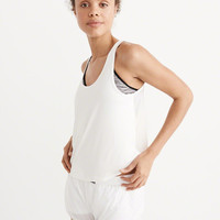 Womens Active Mesh Back Tank | Womens Activewear | Abercrombie.com
