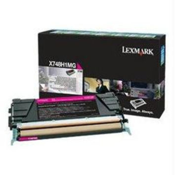 X748 MAGENTA HIGH YIELD RETURN PROGRAM TONER CARTRIDGE