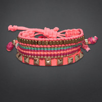 Colorful Braided Bracelet