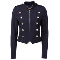 Bea Military Ponti Jacket - Forever New