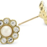 Kate Spade New York Women's Park Avenue Pearls Studs Cream Stud Earrings