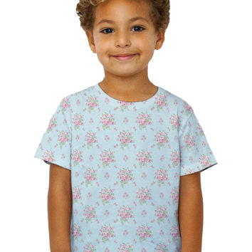 Kids Rose Hipster Passion Pattern