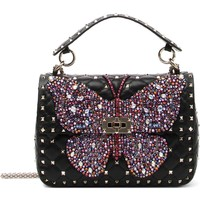 VALENTINO GARAVANI Spike It Medium Leather Shoulder Bag | Nordstrom