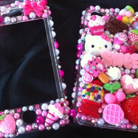 Hello Kitty Miniature Sweets iPhone 4/4s cell by AprilsKawaiiShop