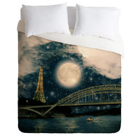Belle13 Paris Romance Duvet Cover