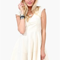 Mary Clarence Dress - Ivory at Necessary Clothing