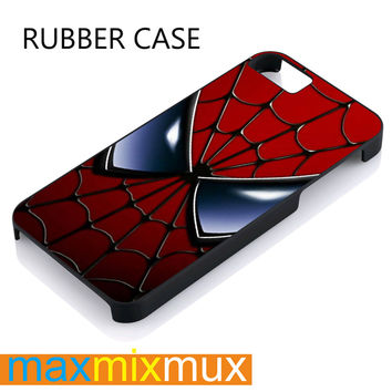 Spiderman iPhone 4/4S, 5/5S, 5C, 6/6 Plus Series Rubber Case