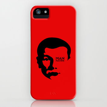 MAN MACHINE (KRAFTWERK!) iPhone & iPod Case by THE USUAL DESIGNERS