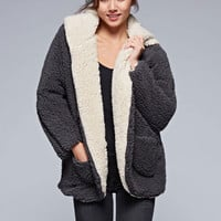 Love Stitch Neve Reversible Sherpa Jacket for Women 20034