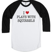 I Love Plays With Squirrels Shirt - Boy Meets World