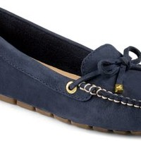 Sperry Top-Sider Katharine Washable Nubuck 1-Eye Driver Navy, Size 9.5M  Women's Shoes