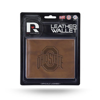 Ohio State Buckeyes Leather Embossed Billfold