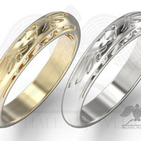 BE MY ZELDA WEDDING BAND CUSTOMMADE HANDMADE ***MADE TO ORDER – 089