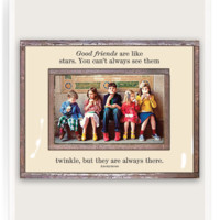 Good Friends Are Like Stars Copper & Glass Photo Frame