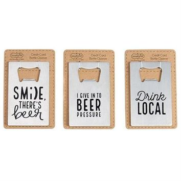DCCKGE8 Credit Card Bottle Openers