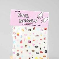 Sara M. Lyons Cute & Sleazy Nail Decal-