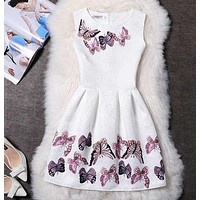 Amuybeen 2017 Wedding Sundress Summer Dress For Girls Kids Clothes Teenagers Baby Girl Flower Party Dresses For 9 10 12 Years 03