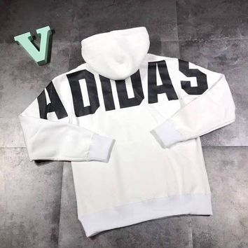 NOV9O2 ADIDAS Woman Men Casual Top Sweater Pullover Hoodie
