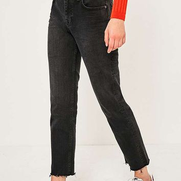 BDG Axyl Black Slim Straight Jeans | Urban Outfitters