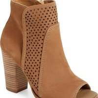 Lucky Brand Lakmeh Peep Toe Bootie (Women) | Nordstrom