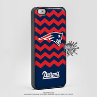 New England Patriot Chevron Phone Case For Iphone, Ipod, Samsung Galaxy, Htc