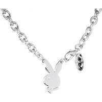 Playboy Bunny Centered Charm Necklace