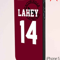 Teen Issac Lahey Lacrosse Jersey iPhone 5 Case