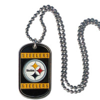 Pittsburgh Steelers Dog Tag Necklace